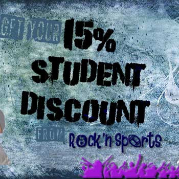 College Students Get 15% Off