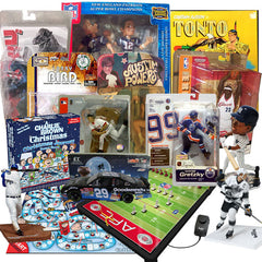 Great selection of sports action figures & bobble heads, movie & TV puzzles, models and games