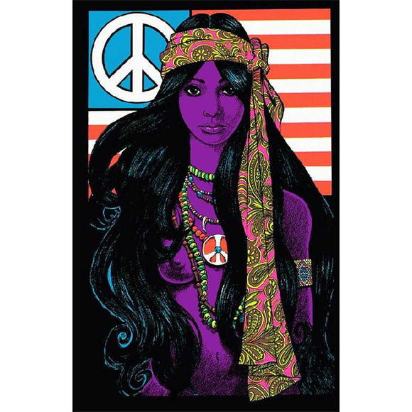 Peace Gypsy Girl