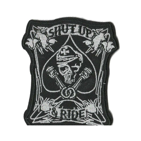 Shut Up & Ride Patch