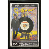 Santana Poster & Record Collage