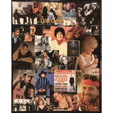 Country Music Collage on Canvas
