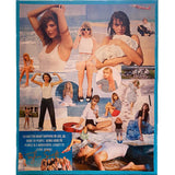 "Taylor Swift Collage ""On The Beach"" on Stretched Canvas"
