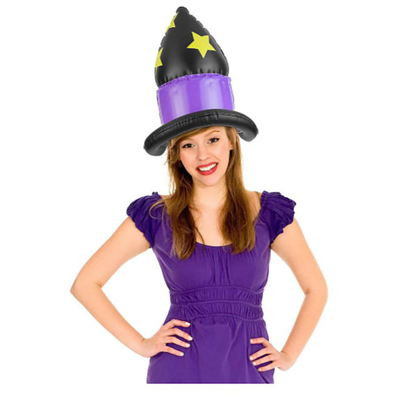 Inflatable Witch Hat, Adult