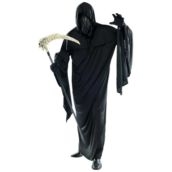 Adult Ghoul Horror Robe with Removable Mask