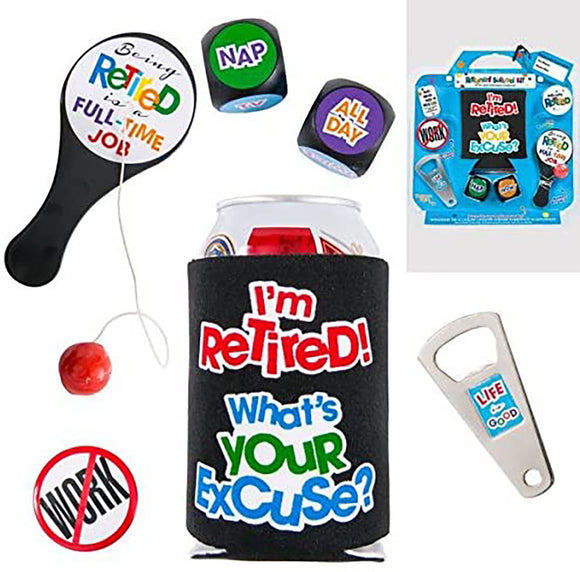 Retirement Survival Kit Novelty Gift