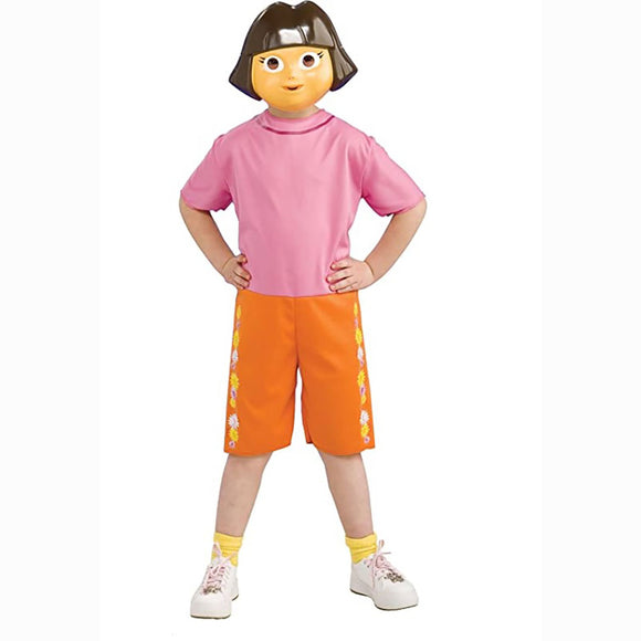 Girls Dora the Explorer Costume Set