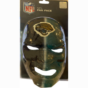 Carolina Panthers Fan Face NFL Mask