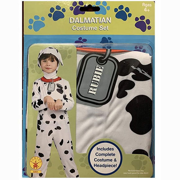 Childrens Dalmatian Costume Set