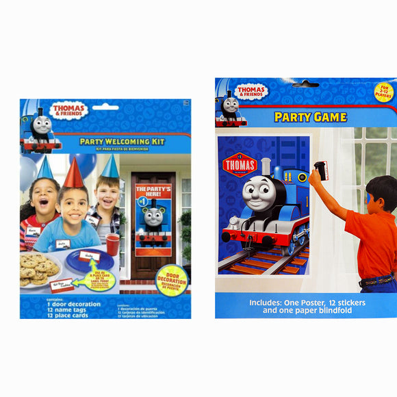 Thomas & Friends Party Welcoming Kit & Party Game