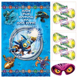 Skylanders Wall Decorating Kit & Birthday Party Game