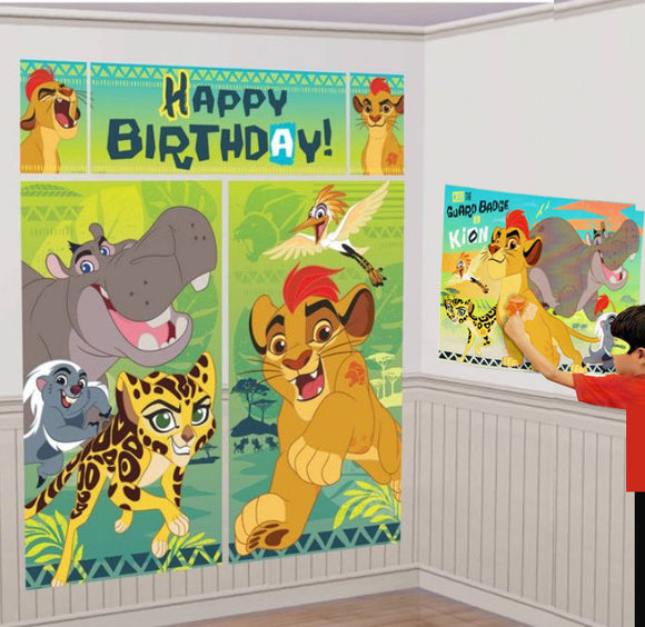 Lion Guard Birthday Party Game and Wall Decorating Bundle