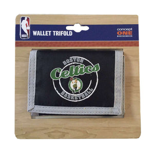 Boston Celtics TriFold Wallet - Rock N Sports