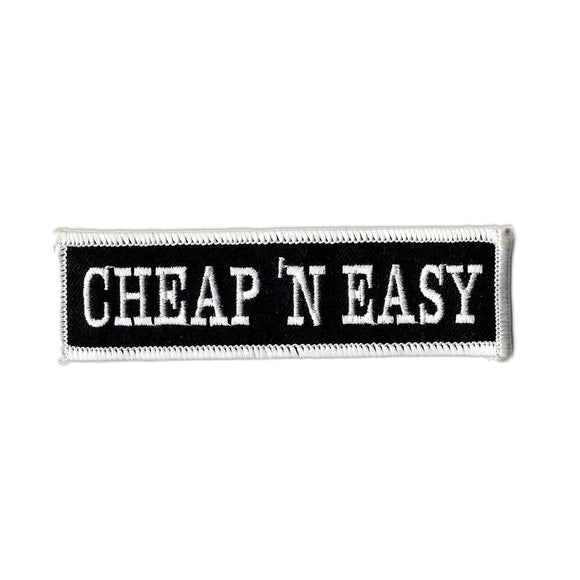 Cheap and Easy Embroidered Iron-on Patch
