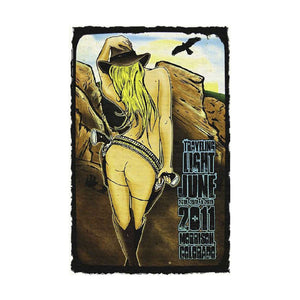 Widespread Panic Poster 2011 Back View