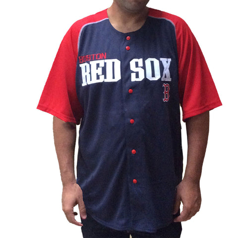 Men\'s Embroidered Boston Red Sox Jersey - Rock N Sports - 1