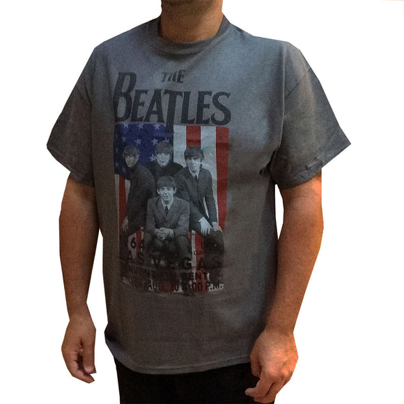 Beatle Las Vegas 1964 Concert T-Shirt - Rock N Sports
