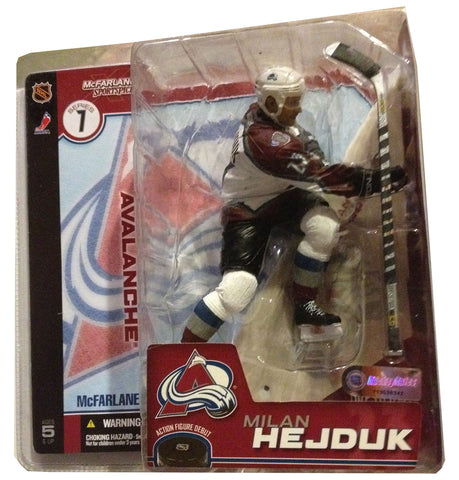 Milan Hejduk McFarlane NHL Action Figure, Series 7 - Rock N Sports