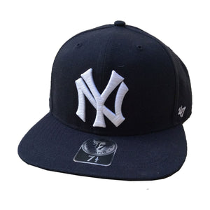 New York Yankees Embroidered Flat Bill Baseball Cap