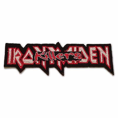 Iron Maiden Killers Die Cut Iron-On Embroidered Patch - Rock N Sports