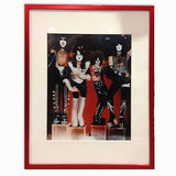 Kiss Rock Band Photo, Framed - Rock N Sports