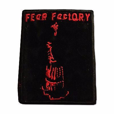 Fear Factory Iron-On Embroidered Patch - Rock N Sports