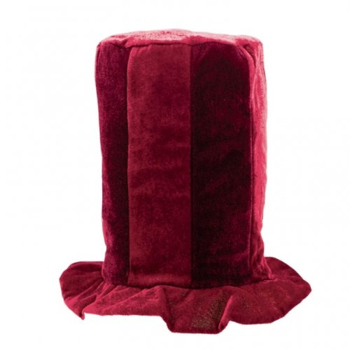 Amscan Tall Top Hat (burgundy)