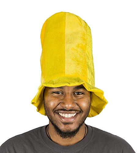 Amscan Tall Top Hat (yellow)