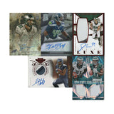 Lot of 5 Football Cards, Seahawks & Eagles