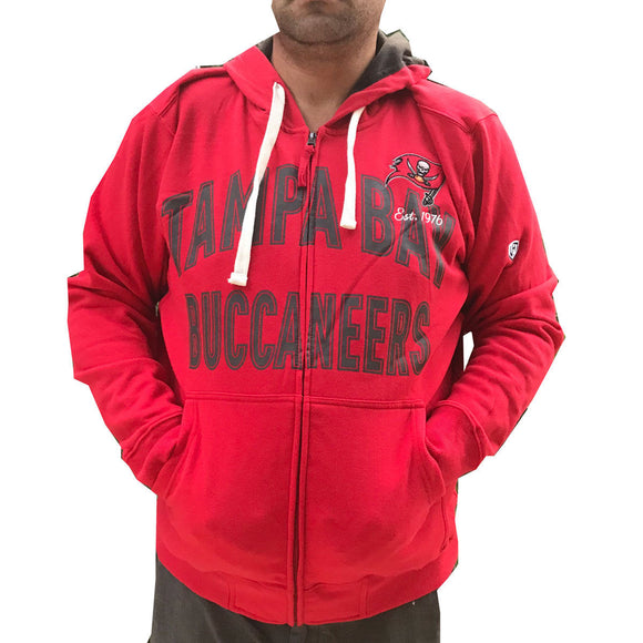 Men's Tampa Bay Buccaneers  Hands High Full Zip Hoodie - XL