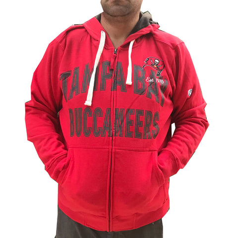 Men's Tampa Bay Buccaneers  Hands High Full Zip Hoodie
