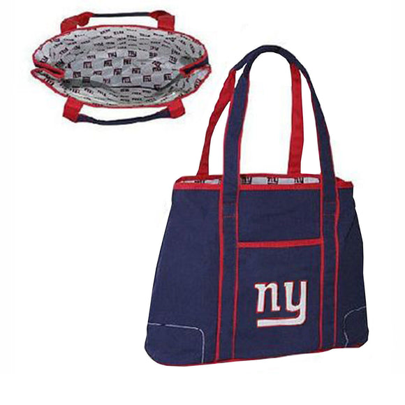 NFL New York Giants Hampton Tote Bag NEW Canvas