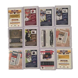 12 Card Lot - NFL Autographed Football Cards Rookies Sports Collectible Gifts