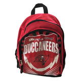 NFL Tampa Bay Buckaneers BACKPACK SCHOOL BOOK BAG NEW Red