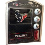 NFL Houston Texans Golf Gift Set NEW Towel Tees Golf Balls