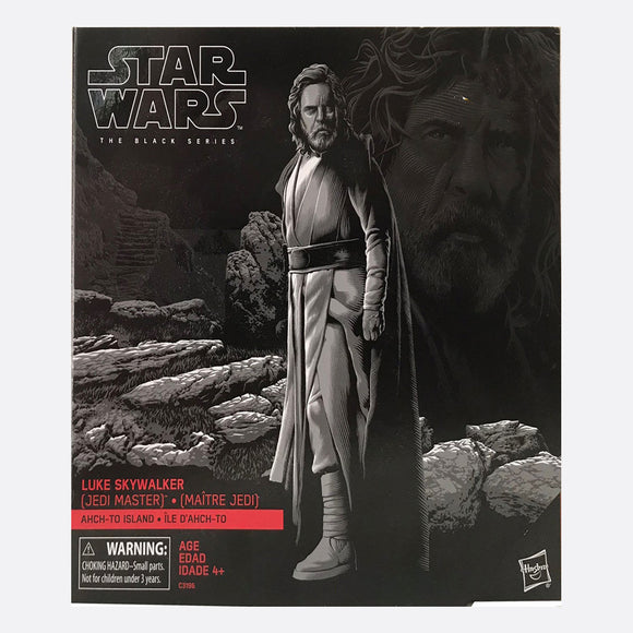 Star Wars The Black Series Luke Skywalker Jedi Master AHCH-TO ISLAND