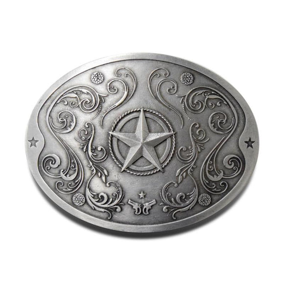 Star Belt Buckle Beer Holder