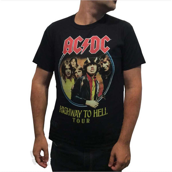AC/DC Highway to Hell 1979 Tour T-Shirt