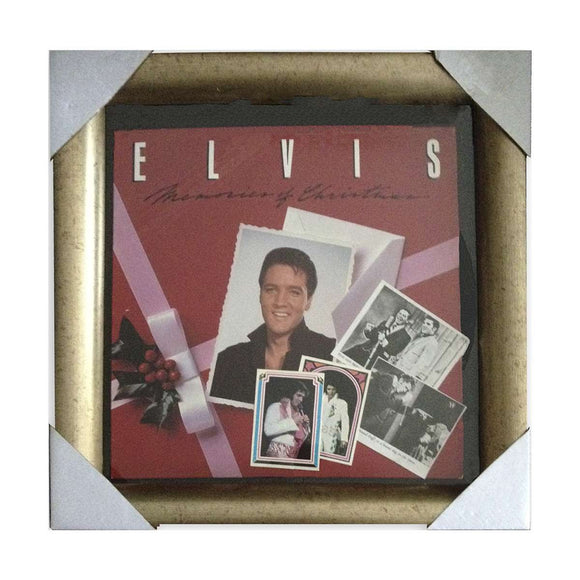 Elvis 1982 Christmas Record Collage - Rock N Sports