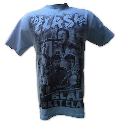The Clash T-Shirt, Black Market, New Puck Rock Band Tee, Lg, Xl, - Rock N Sports - 1