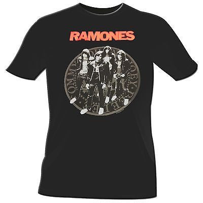 Ramones Group Presidential Seal T-Shirt - Rock N Sports