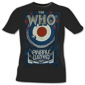 The Who Pinball Wizard Reproduction T-Shirt, 1969 - Rock N Sports