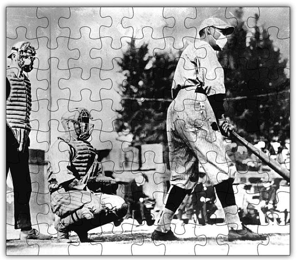 Wooden Jigsaw Puzzle, Spanish Flu Baseball