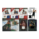 8 Basketball Cards Game Worn Jerseys & Autographs