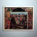 Beatles Sgt Peppers Record Collage - Rock N Sports - 2