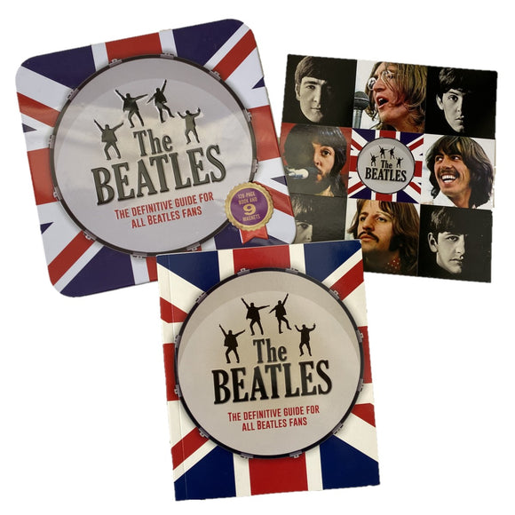 The Beatles - The Definitive Guide For All Beatles Fans Book & Magnets