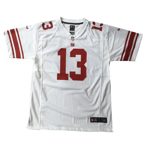 Odell Beckham Jersey New York Giants White Youth XL 18/20 Official NFL NEW Nike