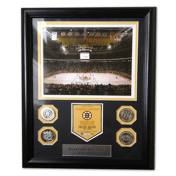 Boston Bruins Photo Mint, Highland Mint - Rock N Sports