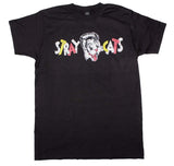 Stray Cats Chest Logo T-Shirt