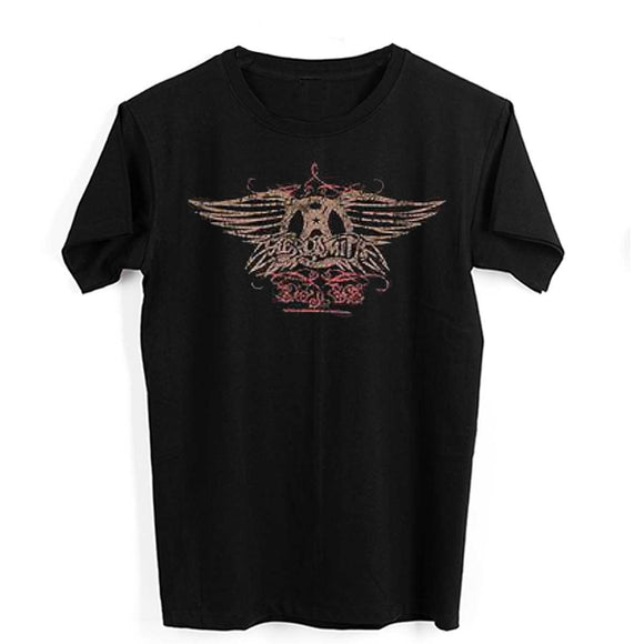 Aerosmith Faded Wings T-Shirt - Small